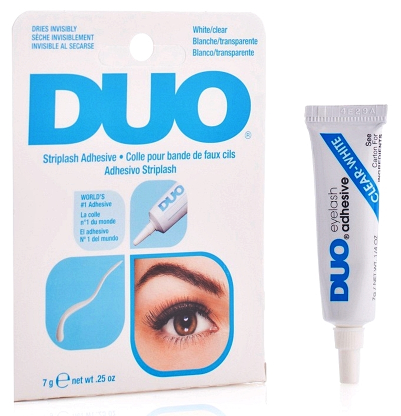 Klej do rzęs DUO CLEAR-WHITE / bezbarwny